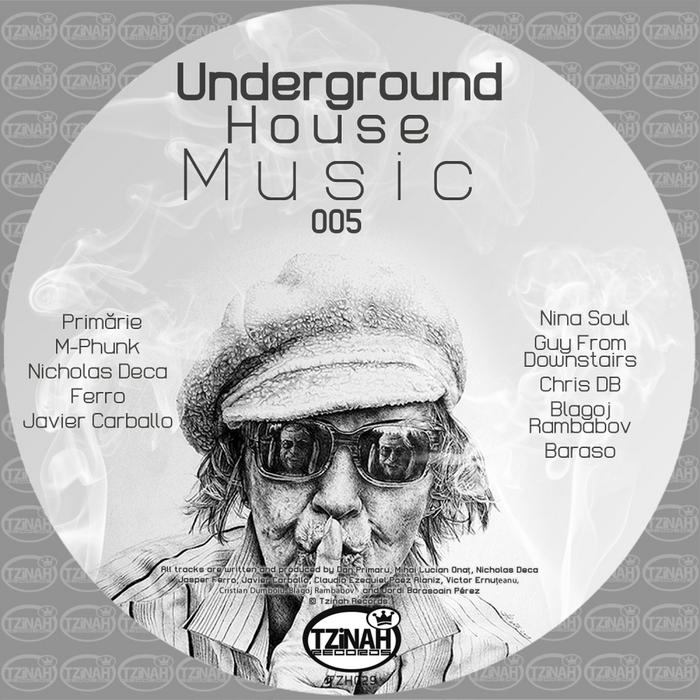 VARIOUS - Underground House Music 005