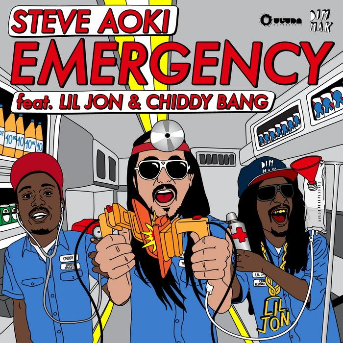 AOKI, Steve feat LIL JON/CHIDDY BANG - Emergency (remixes)