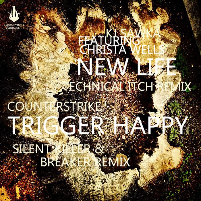 KJ SAWKA feat CHRISTA WELLS/COUNTERSTRIKE - New Life EP