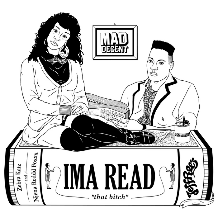 ZEBRA KATZ feat REDDD FOXXX - Ima Read
