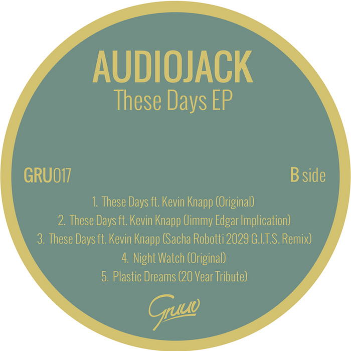 AUDIOJACK feat KEVIN KNAPP - These Days EP