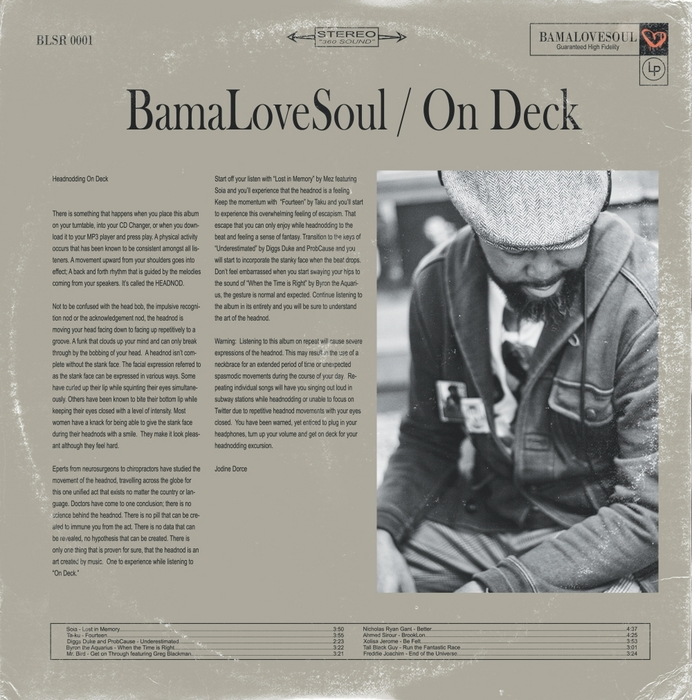 VARIOUS - BamaLoveSoul Presents On Deck