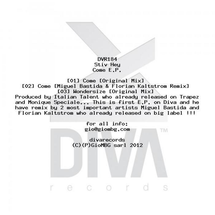 STIV HEY - Come EP