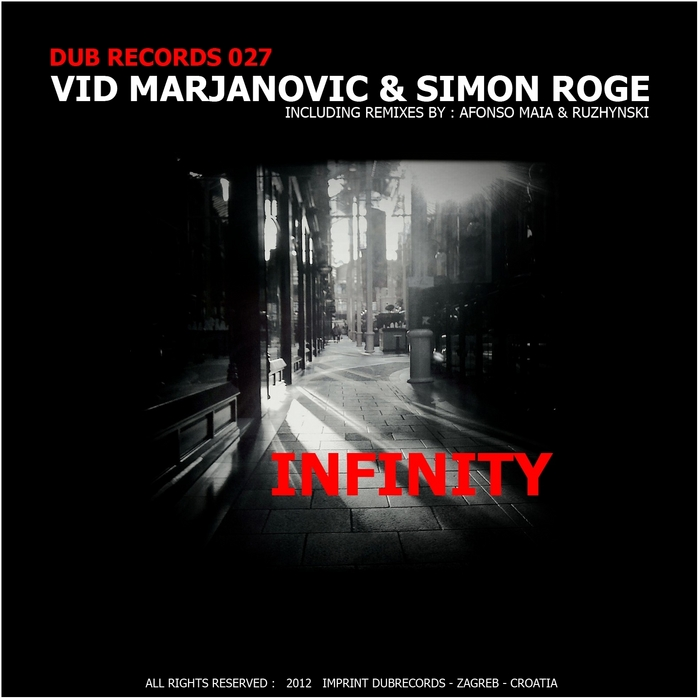 MARJANOVIC, Vid/SIMON ROGE - Infinity