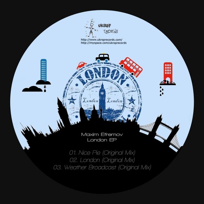 EFREMOV, Maxim - London EP