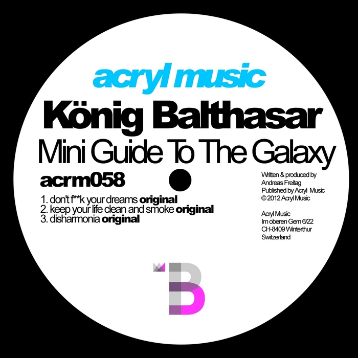 BALTHASAR, Konig - Mini Guide To The Galaxy