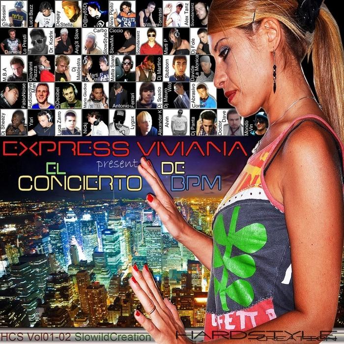 EXPRESS VIVIANA/VARIOUS - El Concierto De Bpm