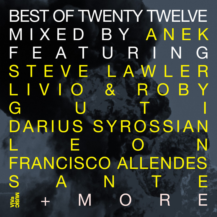 ANEK/VARIOUS - Best Of Twenty Twelve: Part 1 - (unmixed tracks)