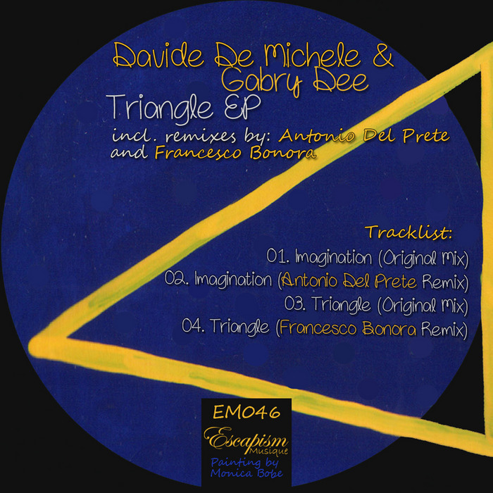 DE MICHELE, Davide/GABRY DEE - Triangle EP