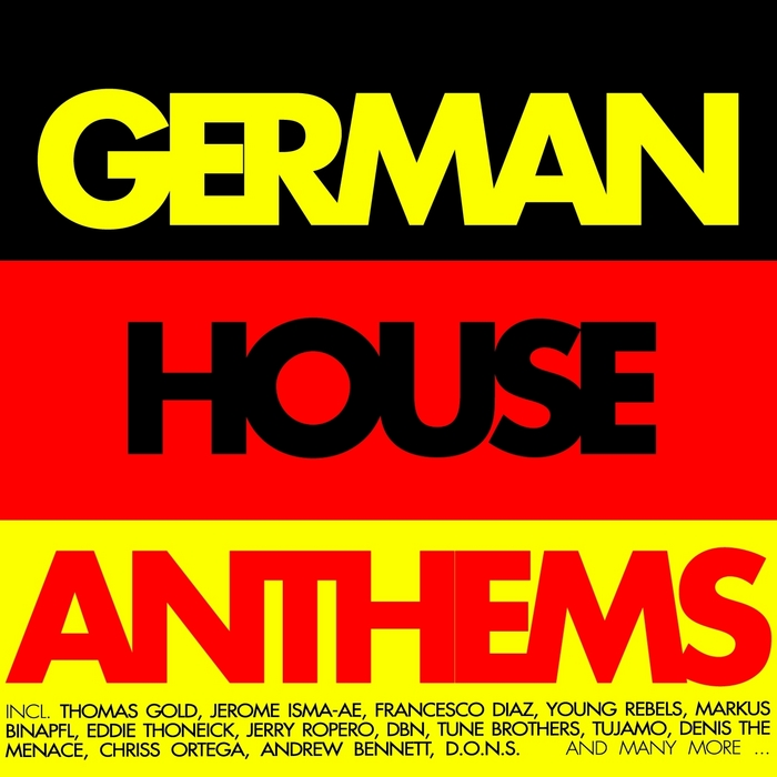 VARIOUS - German House Anthems