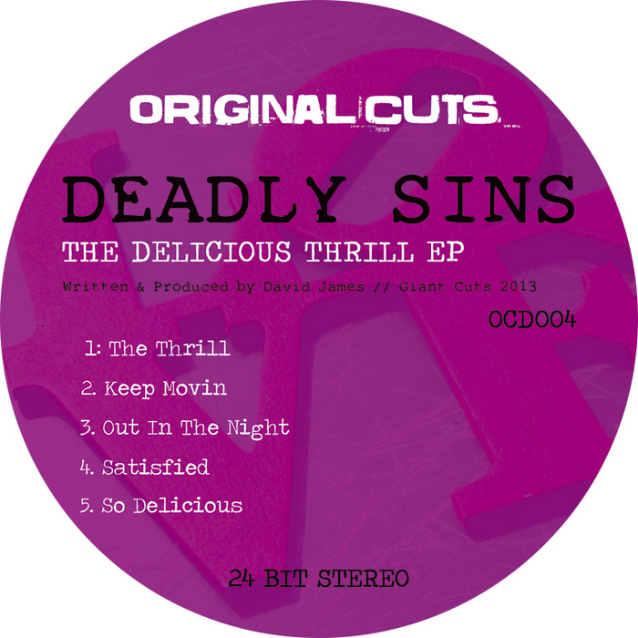 DEADLY SINS - The Delicious Thrill EP