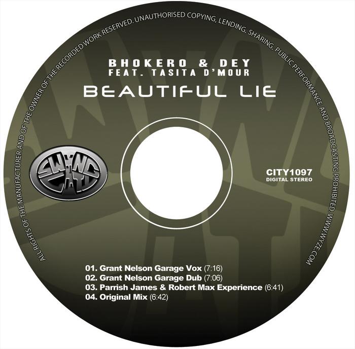 BHOKERO & DEY feat TASITA DMOUR - Beautiful Lie