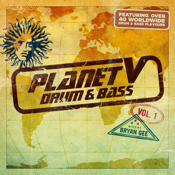 VARIOUS/BRYAN GEE - Planet V - Drum & Bass Vol 1 (Mixed By Bryan Gee)