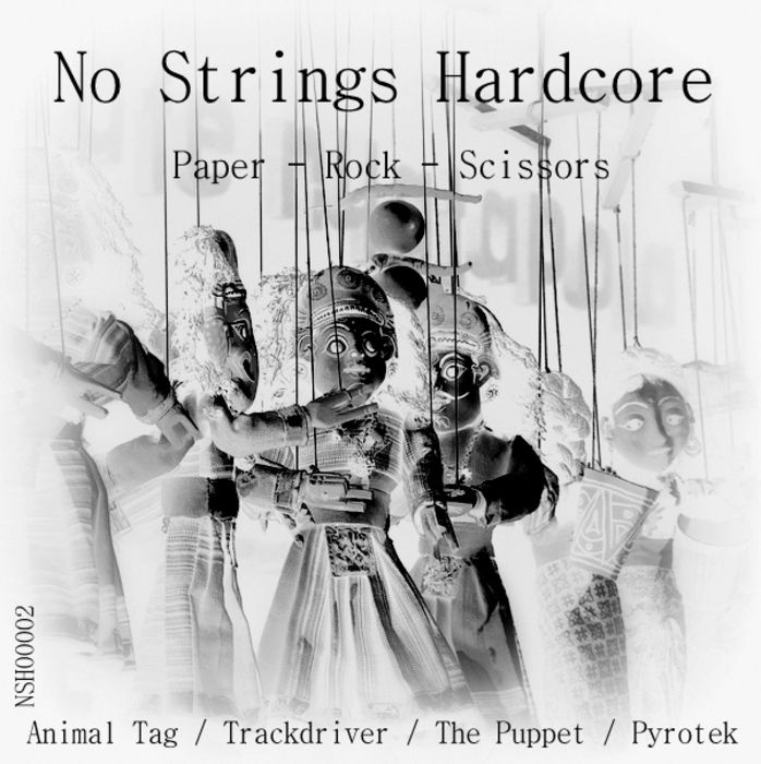ANIMAL TAG/TRACKDRIVER/THE PUPPET/PYROTEK - Paper - Rock - Scissors