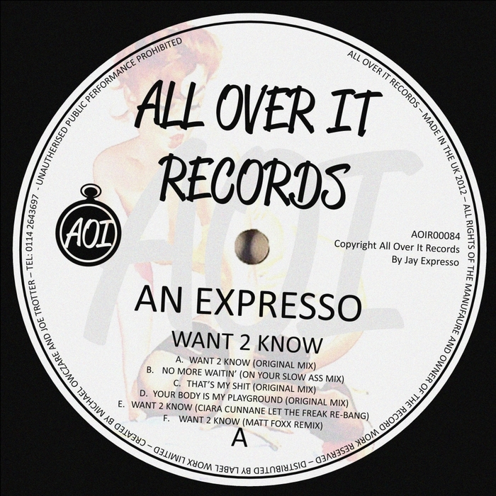 AN EXPRESSO - Want 2 Know
