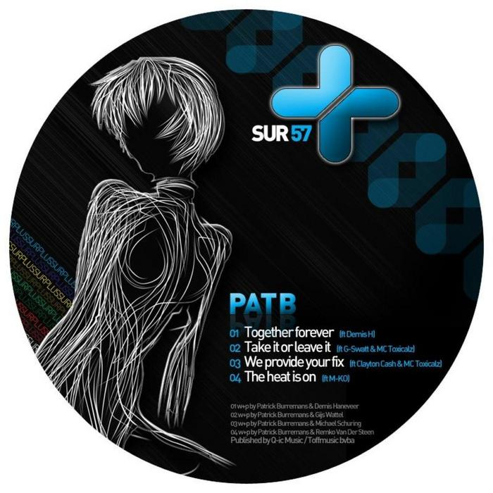 PAT B/G SWATT/CLAYTON CASH/M KO feat DEMIS H - Collabs EP