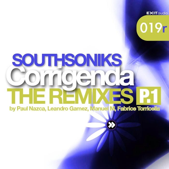 SOUTHSONIKS - Corrigenda (The remixes Pt 1)