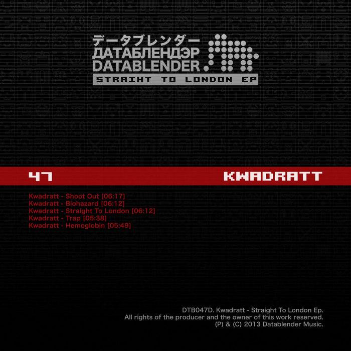 KWADRATT - Straight To London EP