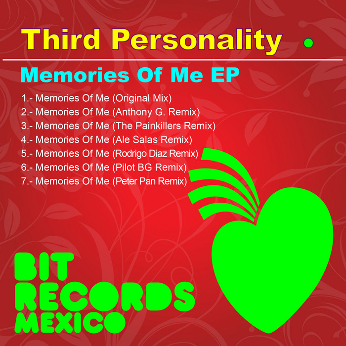 THIRD PERSONALITY - Memories Of Me EP