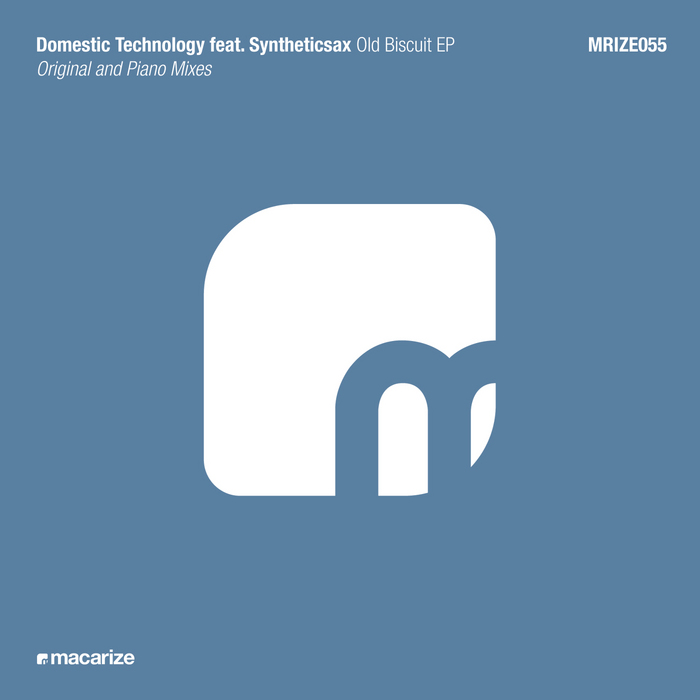 DOMESTIC TECHNOLOGY/SYNTHETICSAX - Old Biscuit EP