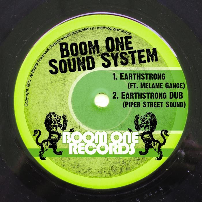 BOOM ONE SOUND SYSTEM - Earthstrong
