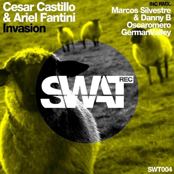 CASTILLO, Cesar/ARIEL FANTINI - Invasion