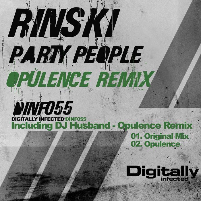 RINSKI/DJ HUSBAND - Party People