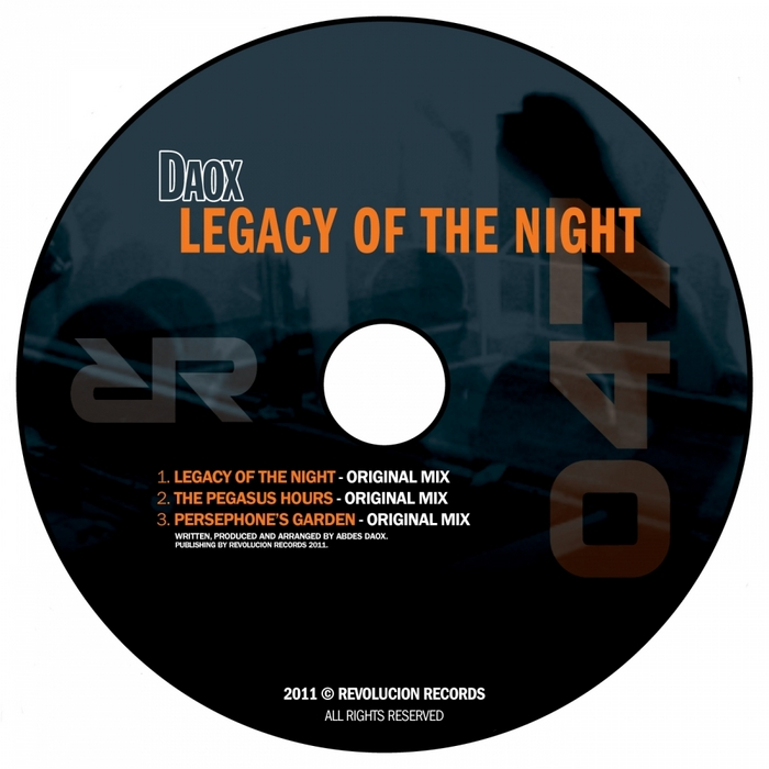 DAOX - Legacy Of The Night