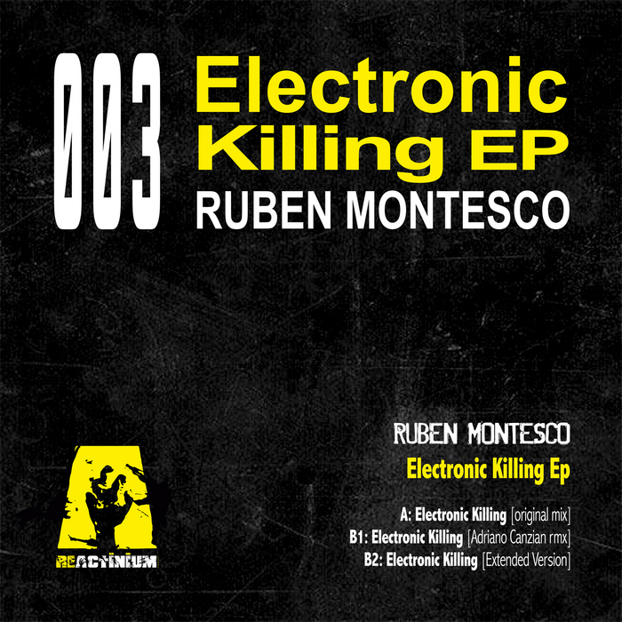 RUBEN MONTESCO - Electronic Killing EP