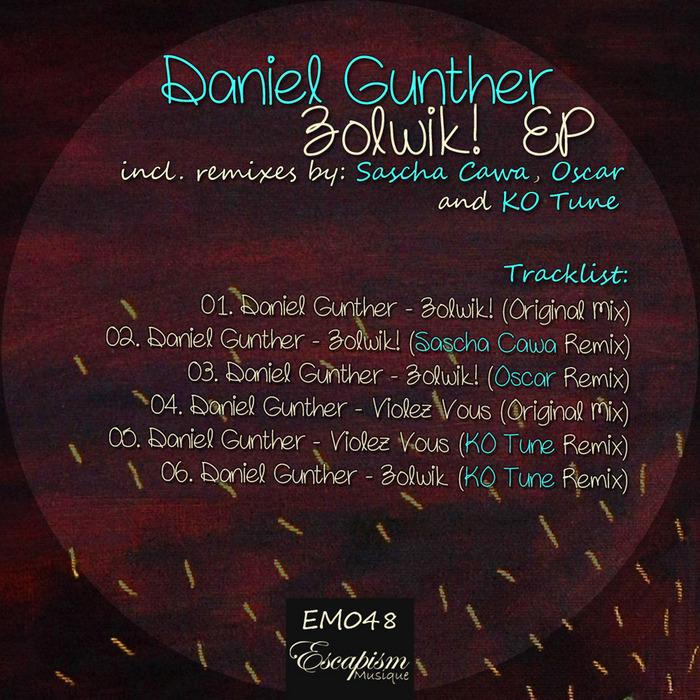 GUNTHER, Daniel - Zolwik! EP