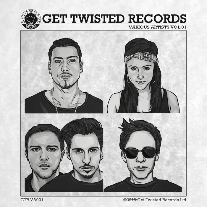 VARIOUS - Get Twisted Records presents Volume 1