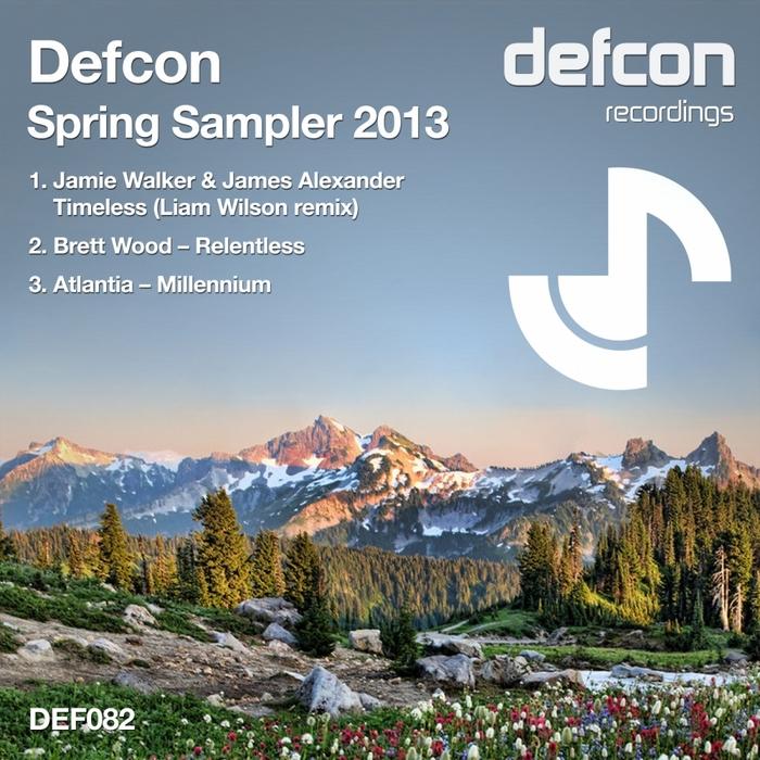 WALKER, Jamie/JAMES ALEXANDER/BRETT WOOD/ATLANTIA - Defcon Spring Sampler 2013