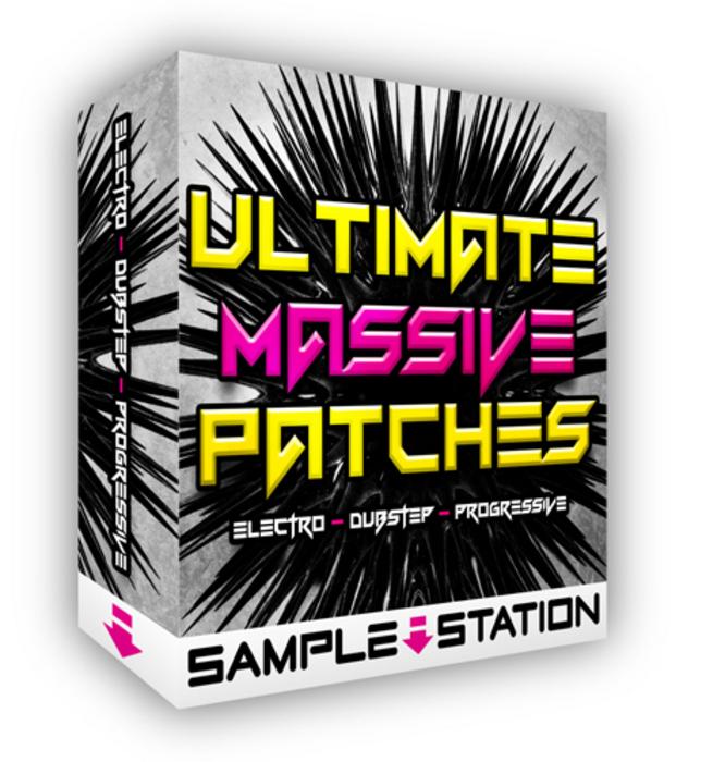SAMPLE STATION - Ultimate Massive Patches (Sample Pack Massive Presets)