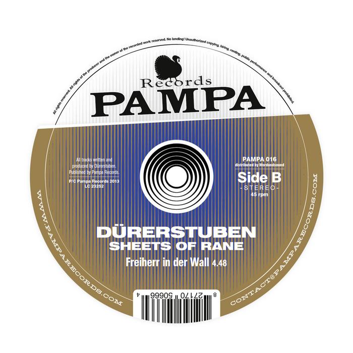 DURERSTUBEN - Sheets Of Rane