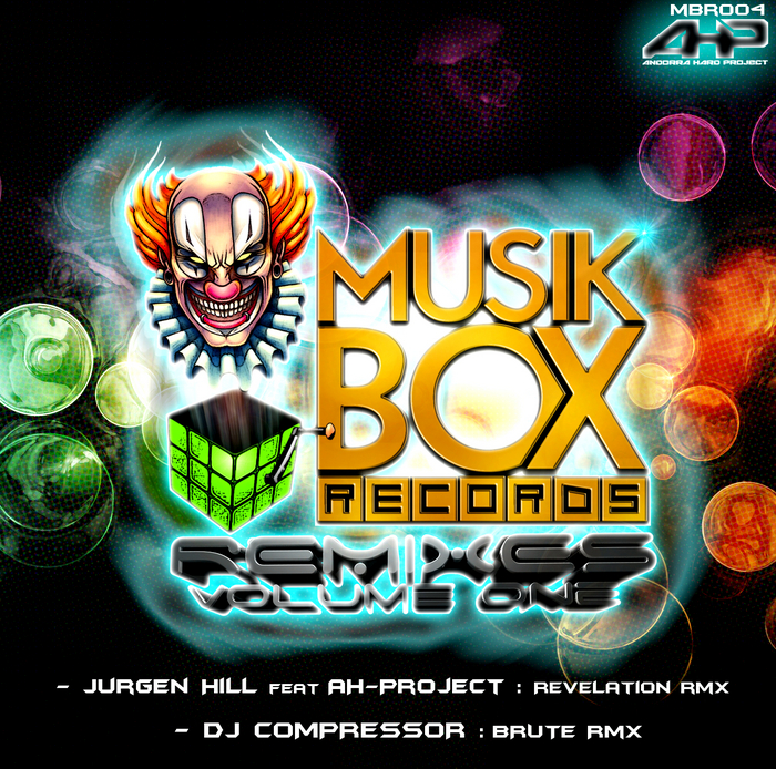 HILL, Jurgen/DJ COMPRESSOR - Music Box Remixes Vol 1