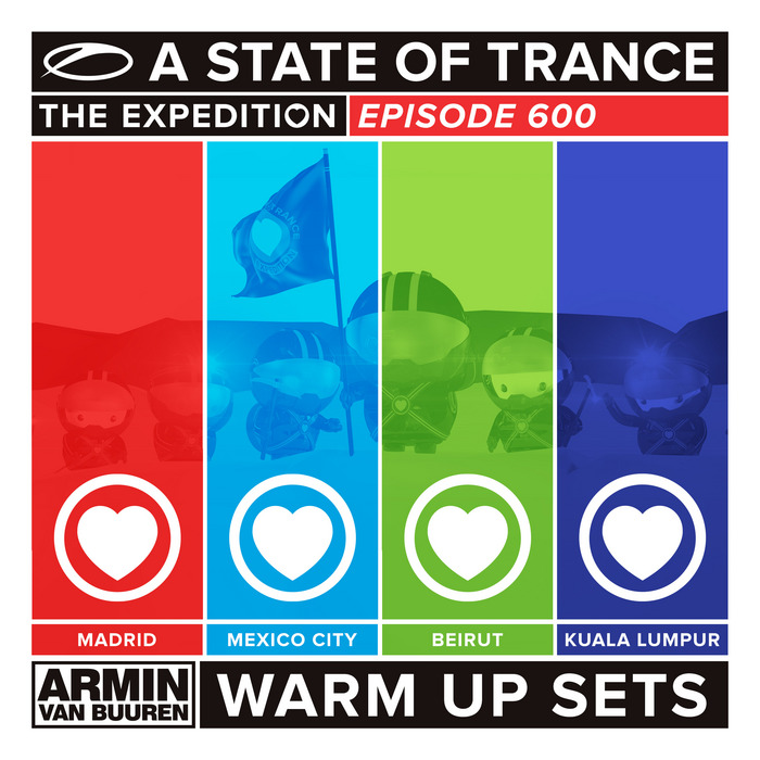 VARIOUS - A State Of Trance 600 (Armin Van Buuren: Warm Up Sets) (unmixed tracks)