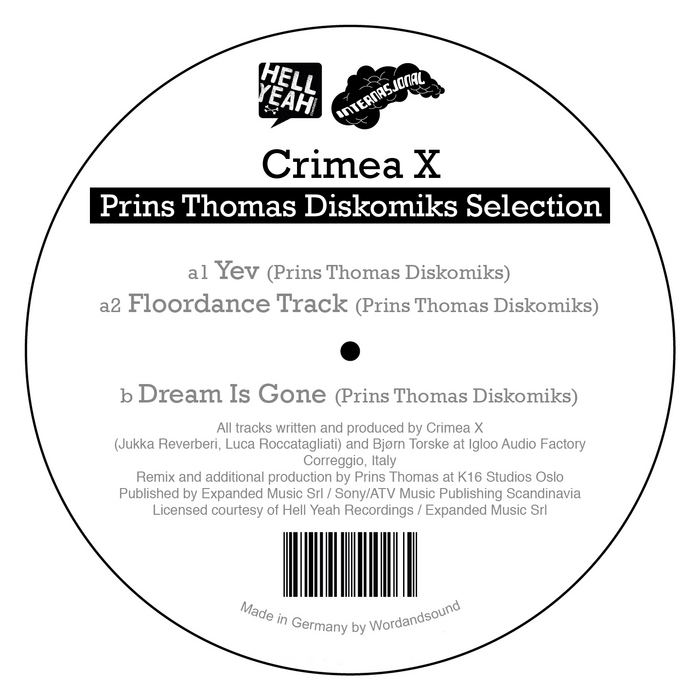 CRIMEA X - Prins Thomas Discomiks Selection