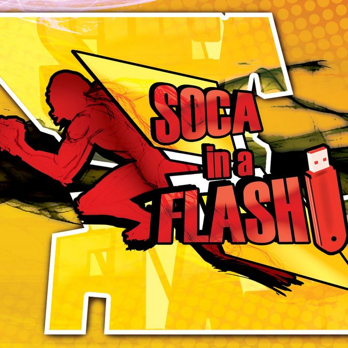 VARIOUS - Soca In A Flash