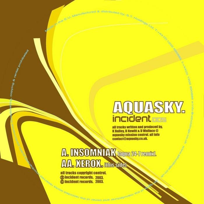 AQUASKY - Insomniak