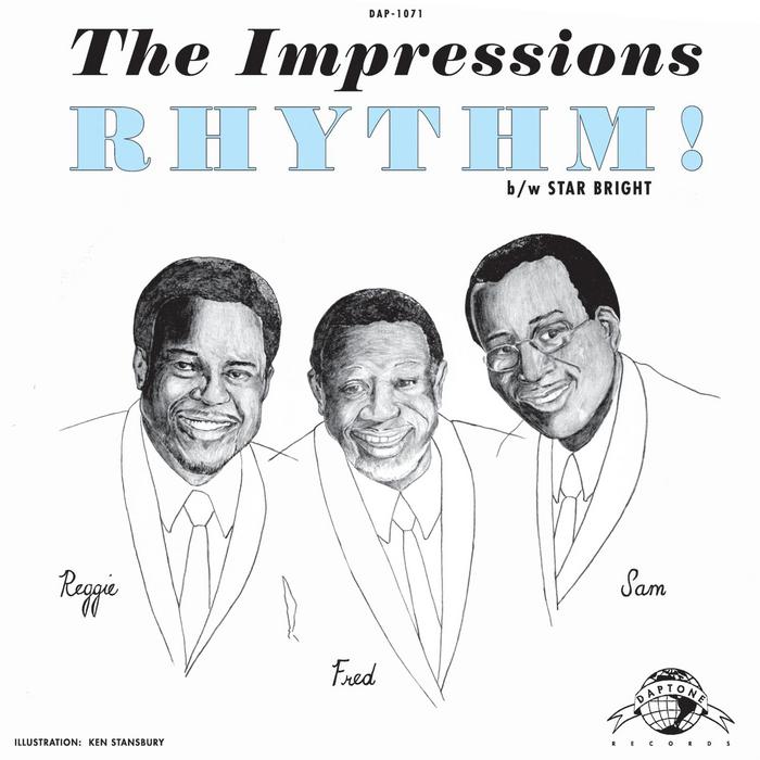 IMPRESSIONS, The - Rhythm!