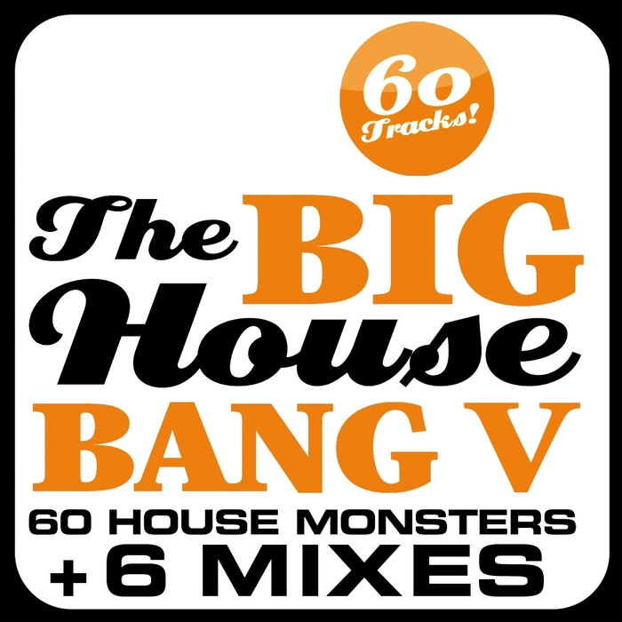 VARIOUS - The Big House Bang! Vol 5: 60 House Monsters + 6 DJ Mixes