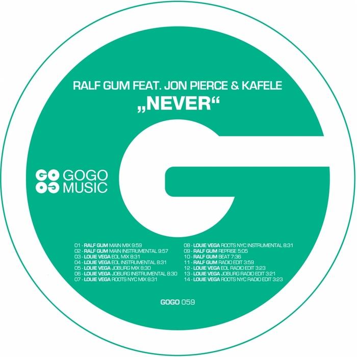 GUM, Ralf feat JON PIERCE/KAFELE - Never