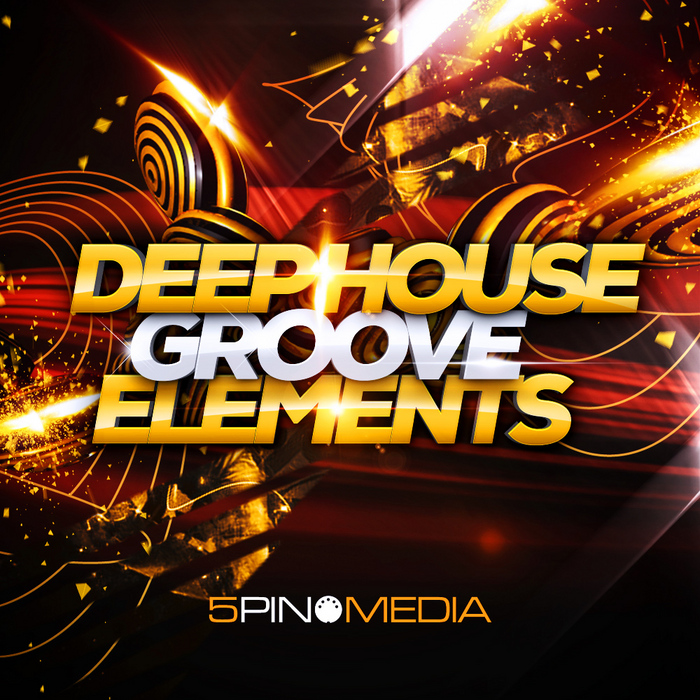 5Pin Media: Deep House Groove Elements (Sample Pack WAV/APPLE/MIDI