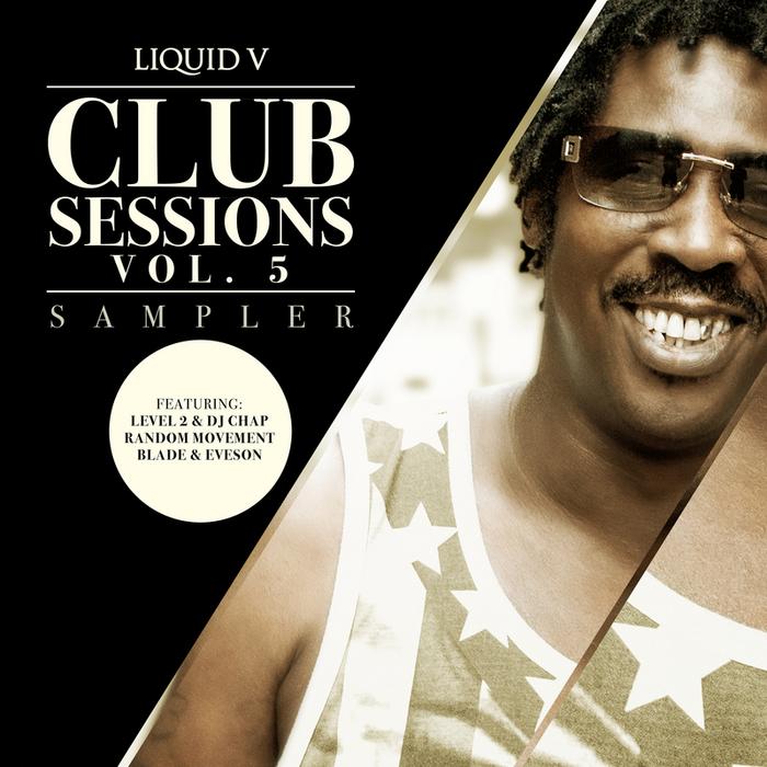 DJ CHAP/LEVEL 2/RANDOM MOVEMENT/BLADE/EVESON - Liquid V Club Sessions Vol 5 (Sampler)
