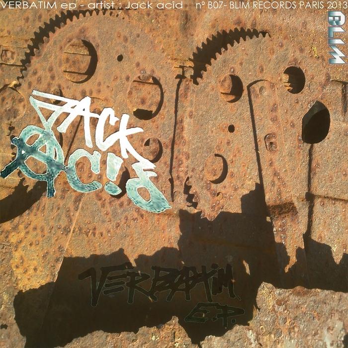 ACID, Jack - Verbatim EP