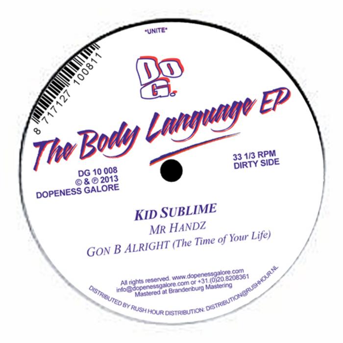 KID SUBLIME - The Body Language EP