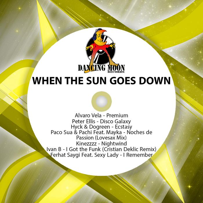 VELA, Alvaro/PETER ELLIS/HYCK/DOGREEN/PACO SUA/PACHI/KINEZZZZ/IVAN B/FERHAT SAYGI - When The Sun Goes Down