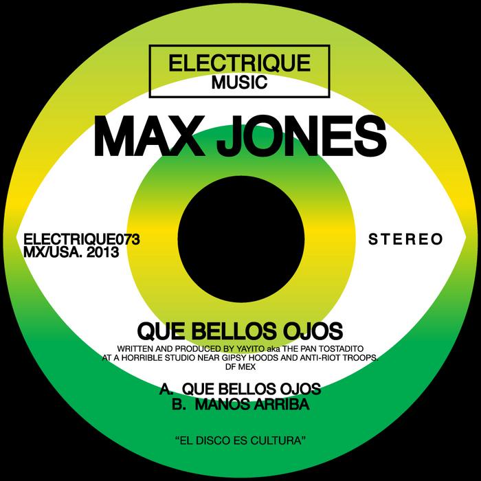 JONES, Max - Que Bellos Ojos