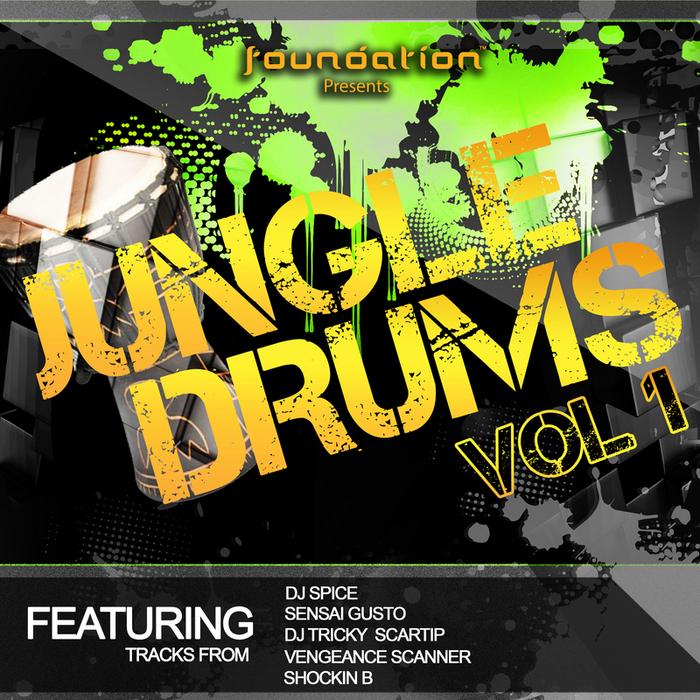 VARIOUS - Jungle Drums Vol 1
