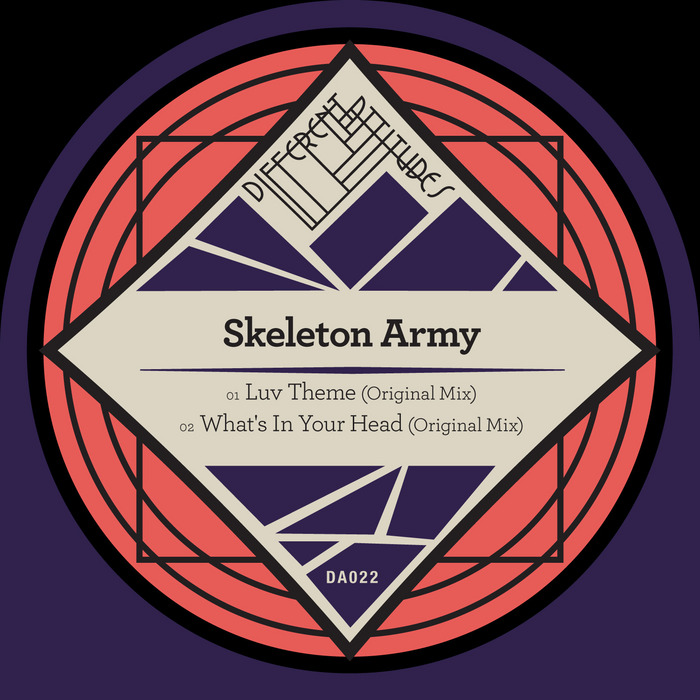 SKELETON ARMY - Luv Theme/What's In Your Head